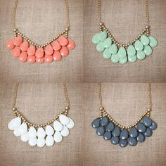Briolette Necklaces