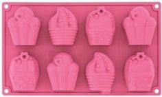 NEW: Silicone Mold to make little cupcakes