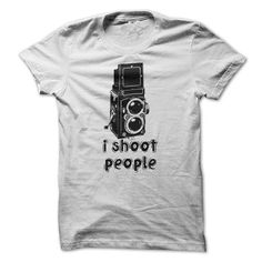 I Shoot People Twin Lens Reflex Camera Humor T Shirts, Hoodies. Check price ==► https://www.sunfrog.com/Hobby/I-Shoot-People--Twin-Lens-Reflex-Camera--Humor-T-Shirt.html?41382 $22.95