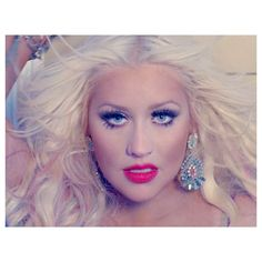 Breaking Down Christina Aguilera's Killer Beauty Game In 'Your Body'... ❤ liked on Polyvore featuring christina aguilera