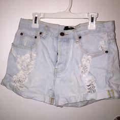 Forever 21 highwaisted shorts Jean high waisted shorts Forever 21 Shorts Jean Shorts