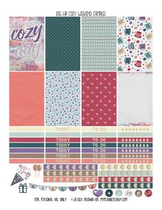 Cozy Weekend Sampler for the Big Happy Planner on myplannerenvy.com