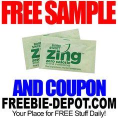 ►► FREE SAMPLE - Zing Zero Calorie Stevia Sweetener - FREE Zing Sugar Substitute Coupon ►► #Free, #FREESample, #FREEStuff, #Freebie ►►