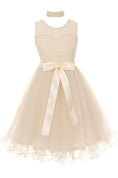 Little Girls Soft Lace Embroidered Bodice Tulle Scarf Flowers Girls Dresses Ivory Size 4 Food, Beverages Tobacco Food Items Fruits Vegetables Fresh Frozen Fruits Quince Ivory Flower Girl Dresses, Lace Flower Girls, Tea Party Outfits, Party Dress, Dresses For Tweens, Girls Dresses, Dance Dresses, Snowflake Dress, Social Dresses