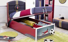 #football #futbol #futbolcu #dekorasyon #decoration #cocukodasi #oda #room #conceptroom #şampiyon #yatak #bed
