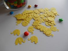 50 Elephant Die Cuts for Scrapbooking by MyThreeSonsByKristin, $2.00