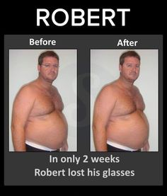 In only 2 weeks Robert lost his glasses