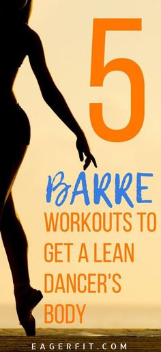 5 Barre Exercises for Beginners Barre workouts are short, effective and targeted to a certain muscle group. Try these 5 workouts individually or combine into one body burning workout that will give you lean and sculpted body. Barre Workout Video, Barre Workouts, Workout Videos, Fat Workout, Workout Tips, Ballet Barre Workout, Pilates Workout, Workout Routines, Muscle Fitness