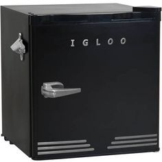 Igloo 1.6 cu ft Retro Compact Refrigerator with Side Bottle Opener Deal