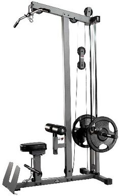 XMark Heavy Duty Lat Pulldown and Low Row Cable Machine Featuring High And Low Pulley Stations And A Flip Up Footplate Home Made Gym, Diy Home Gym, Gym Room At Home, Gym Equipment Names, Home Gym Equipment, No Equipment Workout, Cable Crossover Machine, Cable Machine, Gym Rack
