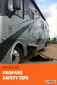 If you're all about that RV life, these propane safety tips will help you get where you're going! Click through to learn! Rv Life, Safety Tips, Camping Tips, Campsite, Recreational Vehicles, Camping Tricks, Camping, Camper Van, Camping Hacks