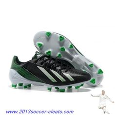 new style 6379f 44cd1 Cheap Messi Adidas Shoes - Black White Green Adidas Adizero F50 TRX FG  Football Boots Nike