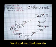 Weekendowe Endomondo Haha, Bullet Journal, Humor, Sayings, Fun, Marcel, Polish, Goals, Cheer
