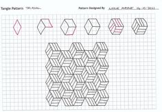 zentangle patterns step by step | Pin it 1 Like Image