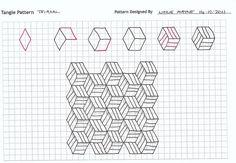 zentangle patterns step by step | Pin it 1 Like Image