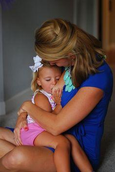 #Breastfeeding a toddler
