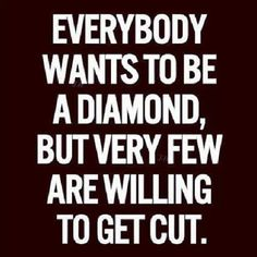 Are you ready to be a diamond?