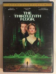 The Thirteenth Floor DVD - Craig Bierko Gretchen Mol Vincent D'Onofrio