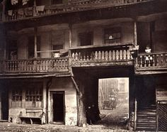 A close up, Saffron hill Rookery 1870's. No wonder Dickens chose this site for Fagin's den. spot the 2 kids hiding.