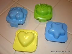 Egg molds - LOVE these!