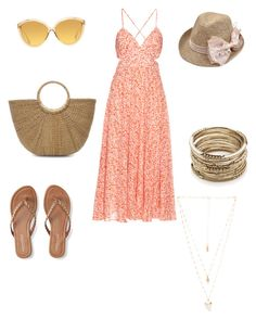 """""""Beachside drinks"""" by kat-henderson on Polyvore featuring Rebecca Taylor, Aéropostale, Sole Society, Natalie B and Linda Farrow"""