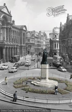 Photo of Birmingham, Victoria Square And The Council House c.1960, from Francis Frith