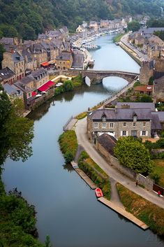 Le Port de Dinan, Bretagne by Ástur Montes Places Around The World, Travel Around The World, The Places Youll Go, Places To See, Around The Worlds, Wonderful Places, Great Places, Beautiful Places, Region Bretagne
