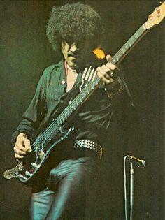 Thin Lizzy: Phil Lynott.
