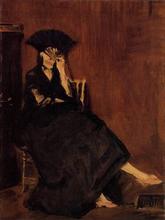 Édouard Manet | Berthe Morisot with a Fan