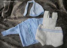 Free Easy Knitting Patterns | Knitting: Baby Romper Knitting Pattern #176