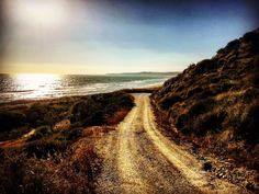 Road to the sea #Sicily