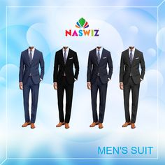 Men's Suit: Well Tailored #Suits For Every Ocassion by Naswiz  Visit: https://www.myshopwiz.com/myshop/mens-suit.aspx  #Naswiz
