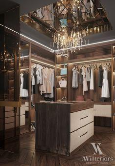 Room Interior Design, Luxury Interior, Interior And Exterior, Luxury Wardrobe, Wardrobe Design, Coffee Shop Design, Dressing Room, Architecture, Closets