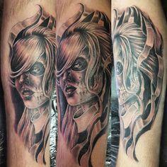 awesome Top 100 calf tattoos - http://4develop.com.ua/top-100-calf-tattoos/ Check more at http://4develop.com.ua/top-100-calf-tattoos/