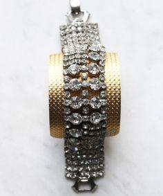Sheer Addiction Jewelry - Crystal Cuff