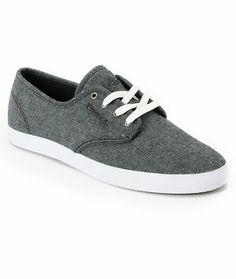993f099d46 Emerica Wino Dark Grey Denim Shoe at Zumiez   PDP Exclusive Shoes