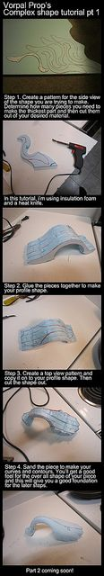 Patterning & making 3D shapes