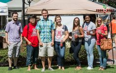 Thanks to Eller College of Management Student Group for coming out to St Philip's Plaza Farmers Market today! Sunday August 10, 2014 Photo Credit: Michael Moriarty Photography