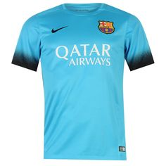 Nike | Nike Barcelona Third Shirt 2015 2016 Junior | FC Barcelona Football Shirts