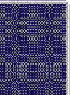 Hand Weaving Draft: cw806820, Crackle Design Project, Ralph Griswold, 4S, 4T - Handweaving.net Hand Weaving and Draft Archive
