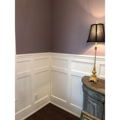 Stairway wainscoting An Introduction To Garden Railroads Article Body: A popular trend in model rail Dining Room Walls, Home, Wall Decor Bedroom, Basement Wainscoting, House Rooms, Moldings And Trim, Wainscoting Kits, Bedroom Wall, Dining Room Wainscoting