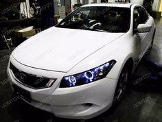 Honda Accord Couple Halo projector headlights. I want!