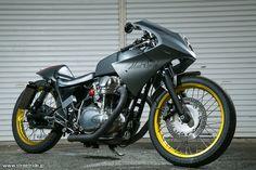 "Kawasaki W650 Cafe Racer ""Mad Speed"" INDIGO - Streetride  motorcycles   caferacer  motos   caferacerpasion.com cac8793f55"