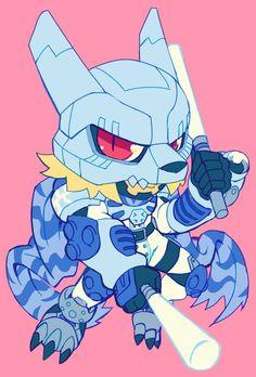 stylized sketch commission for lobomon Digimon Frontier, Character Concept, Character Art, Character Design, Digimon Wallpaper, Digimon Digital Monsters, Robot Concept Art, Digimon Adventure, Fanarts Anime