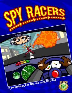 Spy Racers cover by Joshua LH Burnett