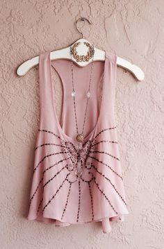 Image of Anthropologie topaz beaded on blush pink Coachella Festival Summer Crop top