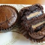 Peanut Butter Cup Brownie Cupcakes