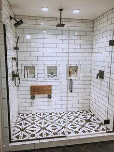 28 Beautiful Farmhouse Bathroom Design and Decor Ideas You Will Go Crazy For - I. 28 Beautiful Farmhouse Bathroom Design and Decor Ideas You Will Go Crazy For - Interior design insp - Bad Inspiration, Bathroom Inspiration, Bathroom Inspo, Simple Bathroom, Warm Bathroom, Minimal Bathroom, Boho Bathroom, Dream Bathrooms, Beautiful Bathrooms