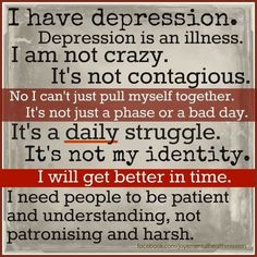 This is more for me than any one else.   And I NEED TO BE MORE PATIENT etc.;this not only helps me but breaks stigma. We feed stigma by being hard on ourselves or fear shedding light for ourselves in order to heal and be resilient.