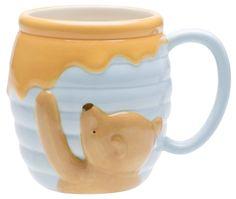 Winnie The Pooh Ceramic Sculpted Mug Zak Designs Disney